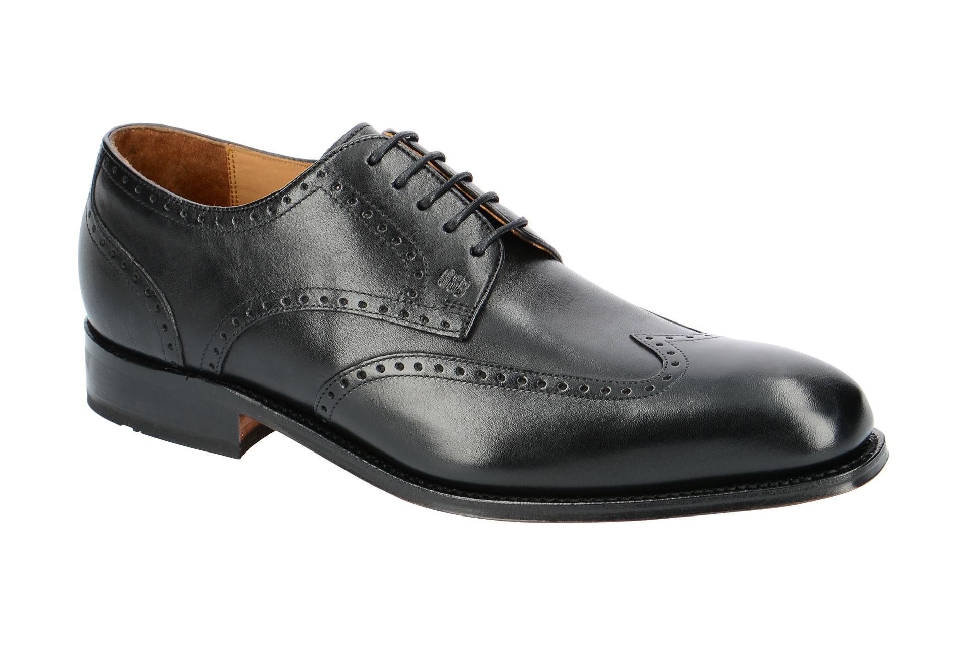 Gordon & Bros. Schuhe Havret 3514 schwarz rahmengenäht :: Schwarz - 40 - Männlich - Erwachsene