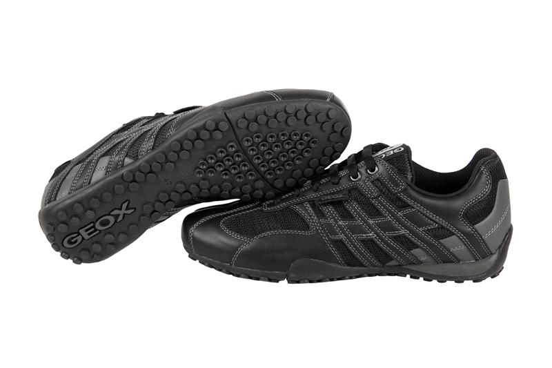 Geox Snake M Schuhe schwarz Sneaker Respira U1107M NEU  eBay