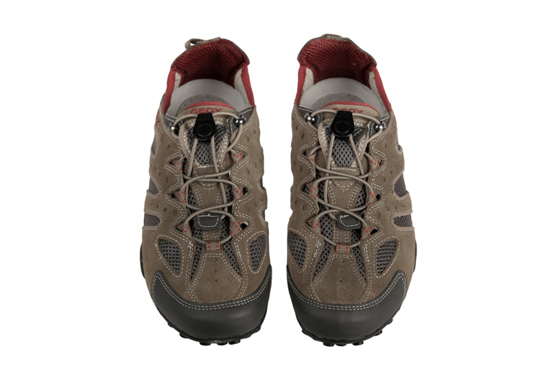 Geox Respira Snake Y Schuhe U0107Y beige rot Herren