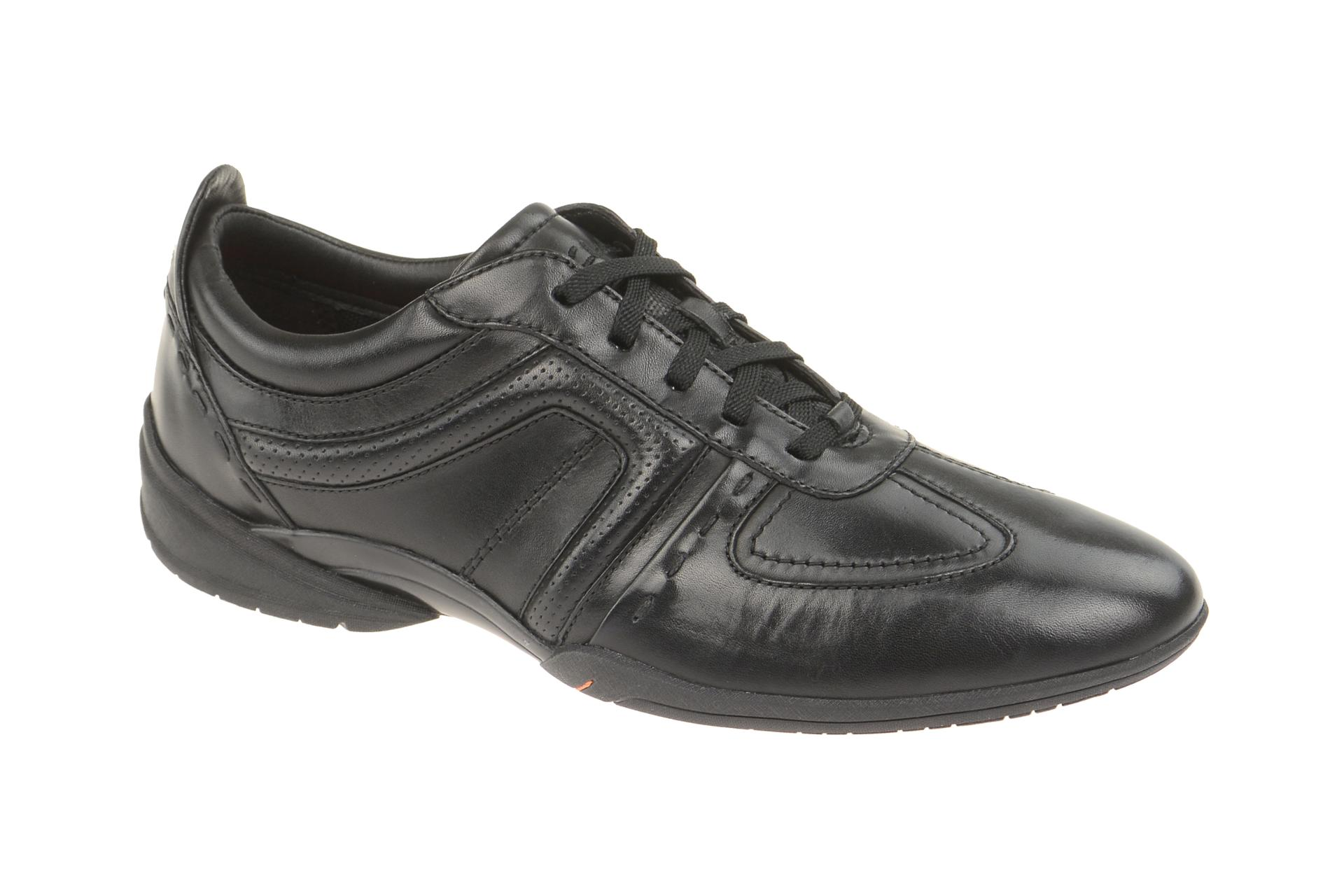 detailed pictures sports shoes price reduced Clarks FLUX SPRING Schuhe schwarz Schnürer NEU on PopScreen