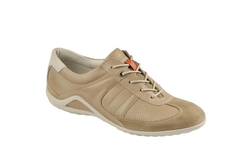 Details zu Ecco Vibration 2 Lace Schuhe beige Damen Sneaker NEU