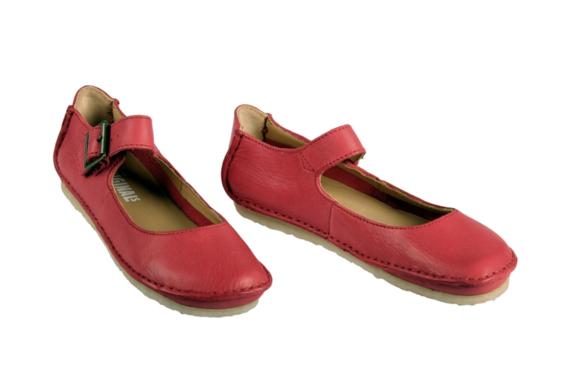reputable site 859e2 755ab Clarks Faraway Fell Schuhe in rot