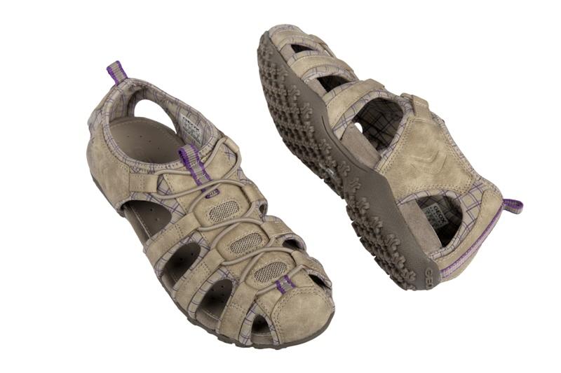 geox d7125u donna sportliche damen sandale trekking sandale outdoorsandale funktionssandale. Black Bedroom Furniture Sets. Home Design Ideas