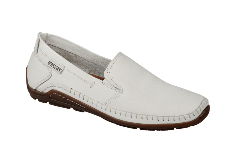Details zu Pikolinos 06H-5303 Schuhe espuma weiß Herren Slipper NEU