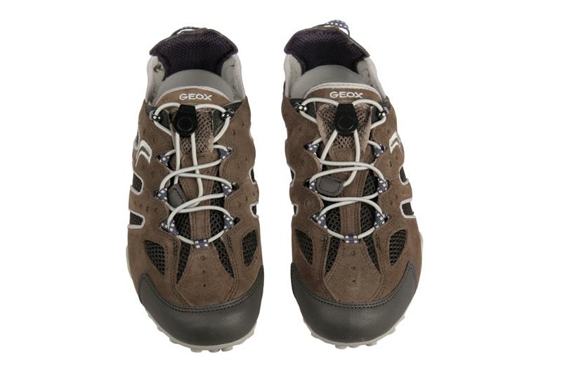 Geox Snake B Schuhe U0107B braun grau Herren NEU  eBay