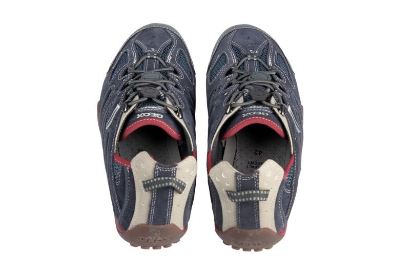 Geox Snake B Schuhe U1107B blau rot beige Herren NEU  eBay
