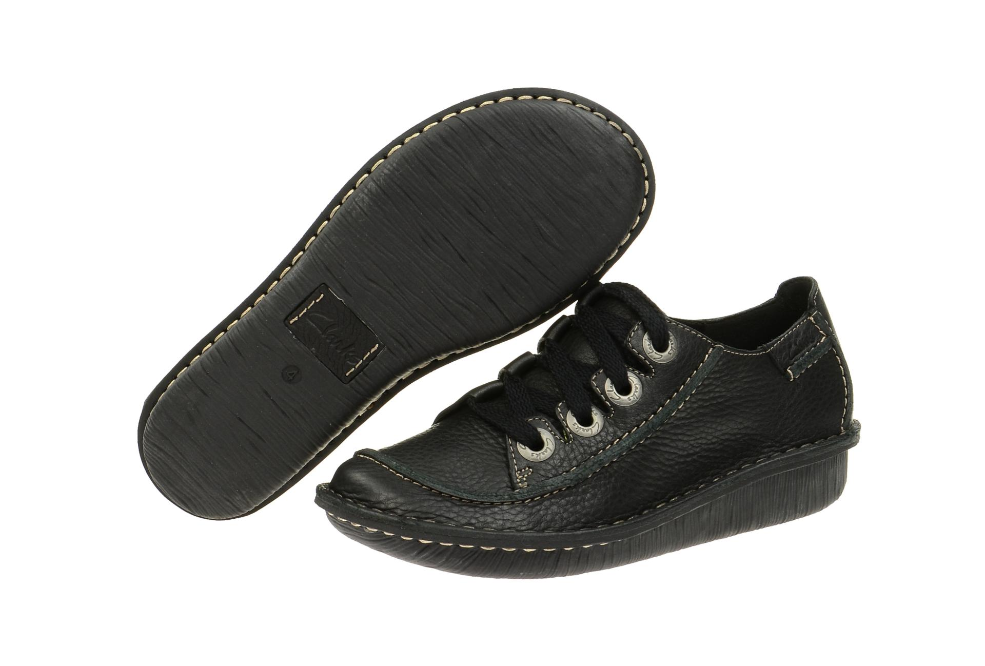 Clarks Schuhe Funny Story schwarz Damen Schnürer NEU | eBay
