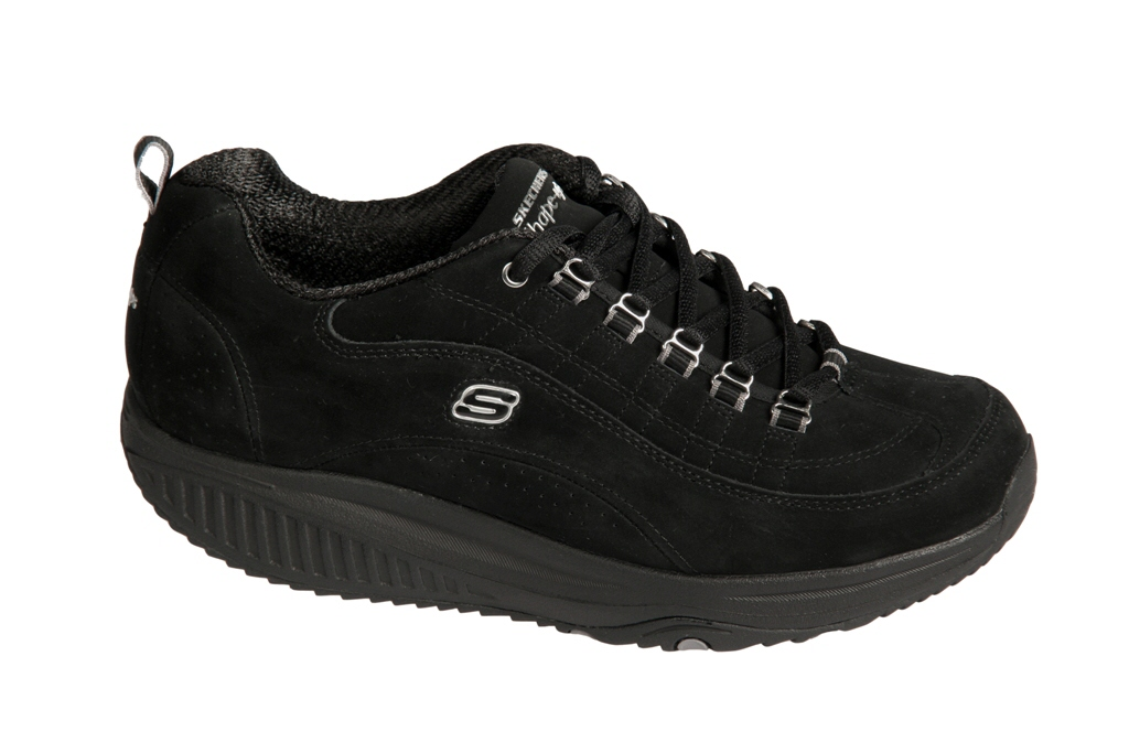 skechers schuhe shape ups 12321 bkn schwarz velour ebay. Black Bedroom Furniture Sets. Home Design Ideas