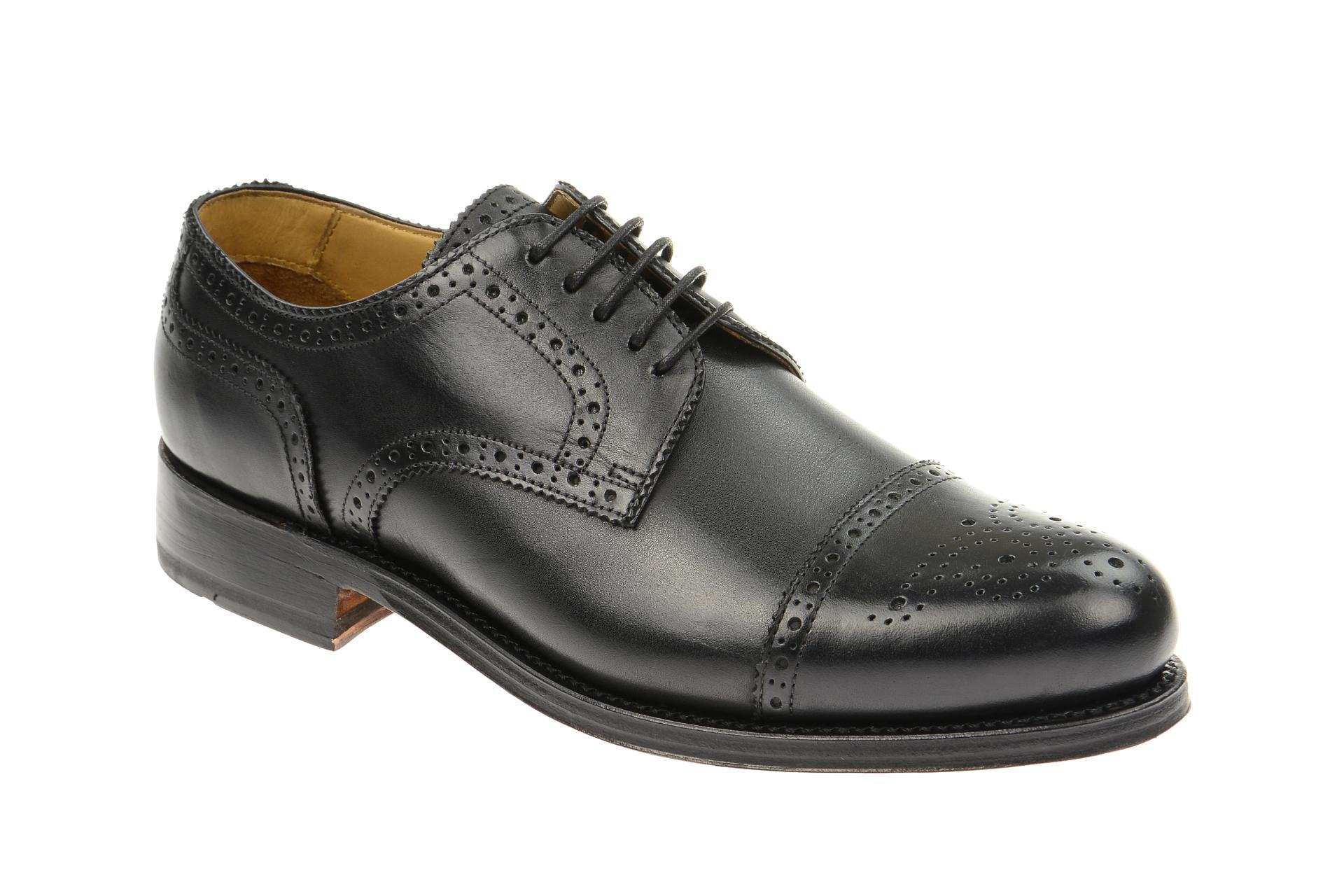 Gordon & Bros. Gordon & Bros Schuhe 4010 Levet schwarz rahmengenäht :: Schwarz - 40 - Männlich - Erwachsene