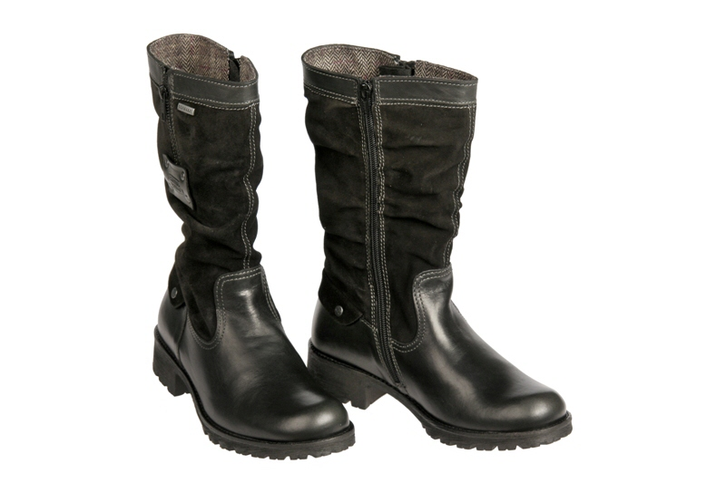 camel active ranger gtx damen stiefel schwarz gore tex 732. Black Bedroom Furniture Sets. Home Design Ideas