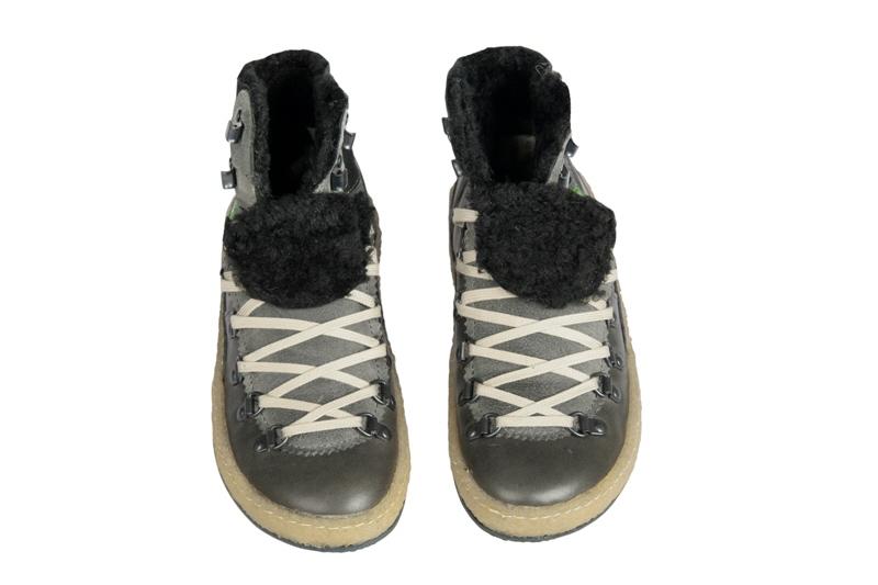 snipe paterna 14 damen boots stone grau warmfutter schuhe. Black Bedroom Furniture Sets. Home Design Ideas