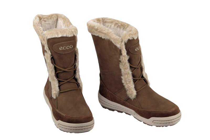ecco siberia damen stiefel sepia braun warmfutter winterstiefel neu. Black Bedroom Furniture Sets. Home Design Ideas