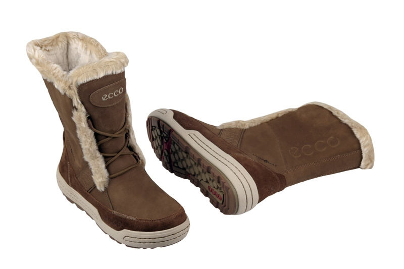 ecco siberia damen stiefel sepia braun warmfutter winterstiefel neu ebay. Black Bedroom Furniture Sets. Home Design Ideas