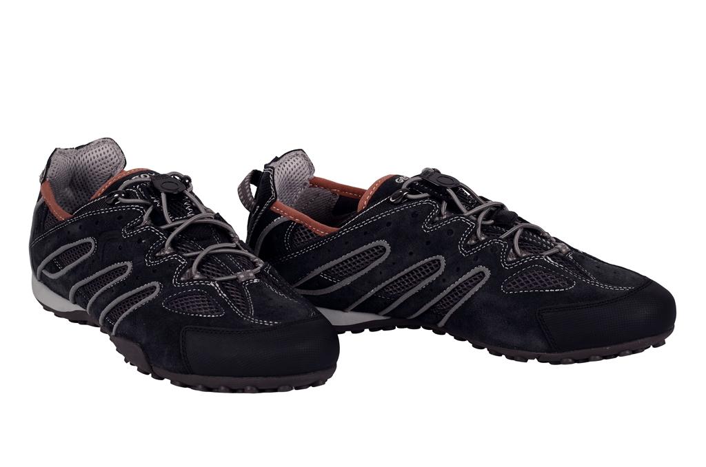 geox respira snake b schuhe dunkelblau grau herren sneakers neu ebay. Black Bedroom Furniture Sets. Home Design Ideas