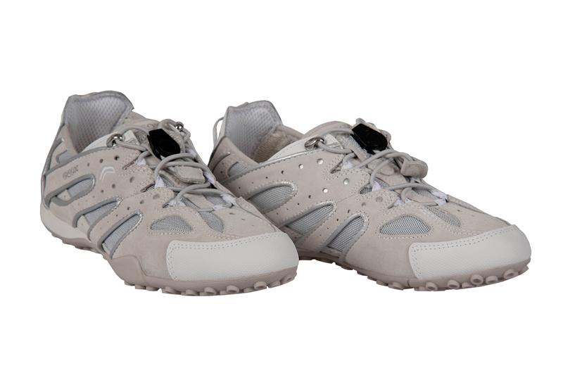 best website 6defd f7594 Geox Snake V Schuhe weiß beige Damen Sneaker