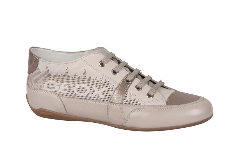 Details zu Geox Respira Moena Schuhe beige weiß D0161A S0046 C0662 ...