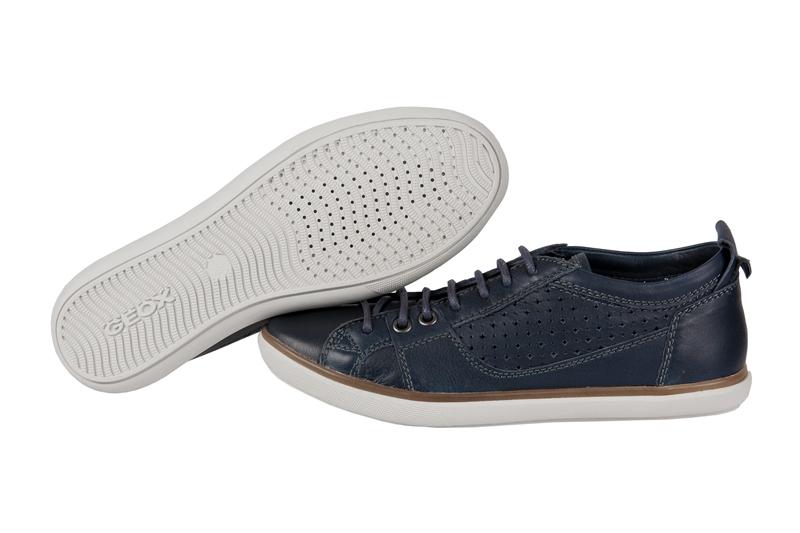 geox respira alike d chaussures bleu femmes baskets. Black Bedroom Furniture Sets. Home Design Ideas