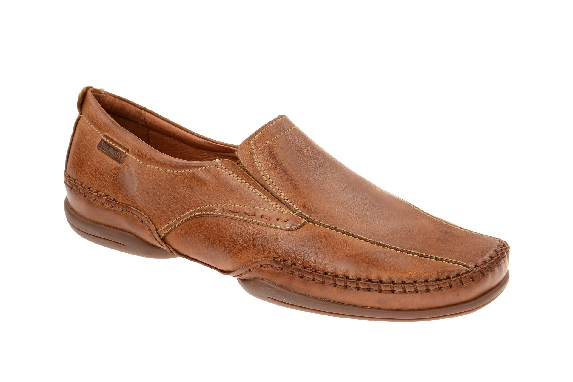 pikolinos puerto rico brogues 03a 6222 shoes brandy brown mens slipper new ebay. Black Bedroom Furniture Sets. Home Design Ideas