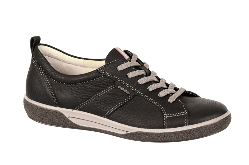 ecco chase lace schuhe in schwarz damen halbschuhe 23100311001 neu ebay. Black Bedroom Furniture Sets. Home Design Ideas