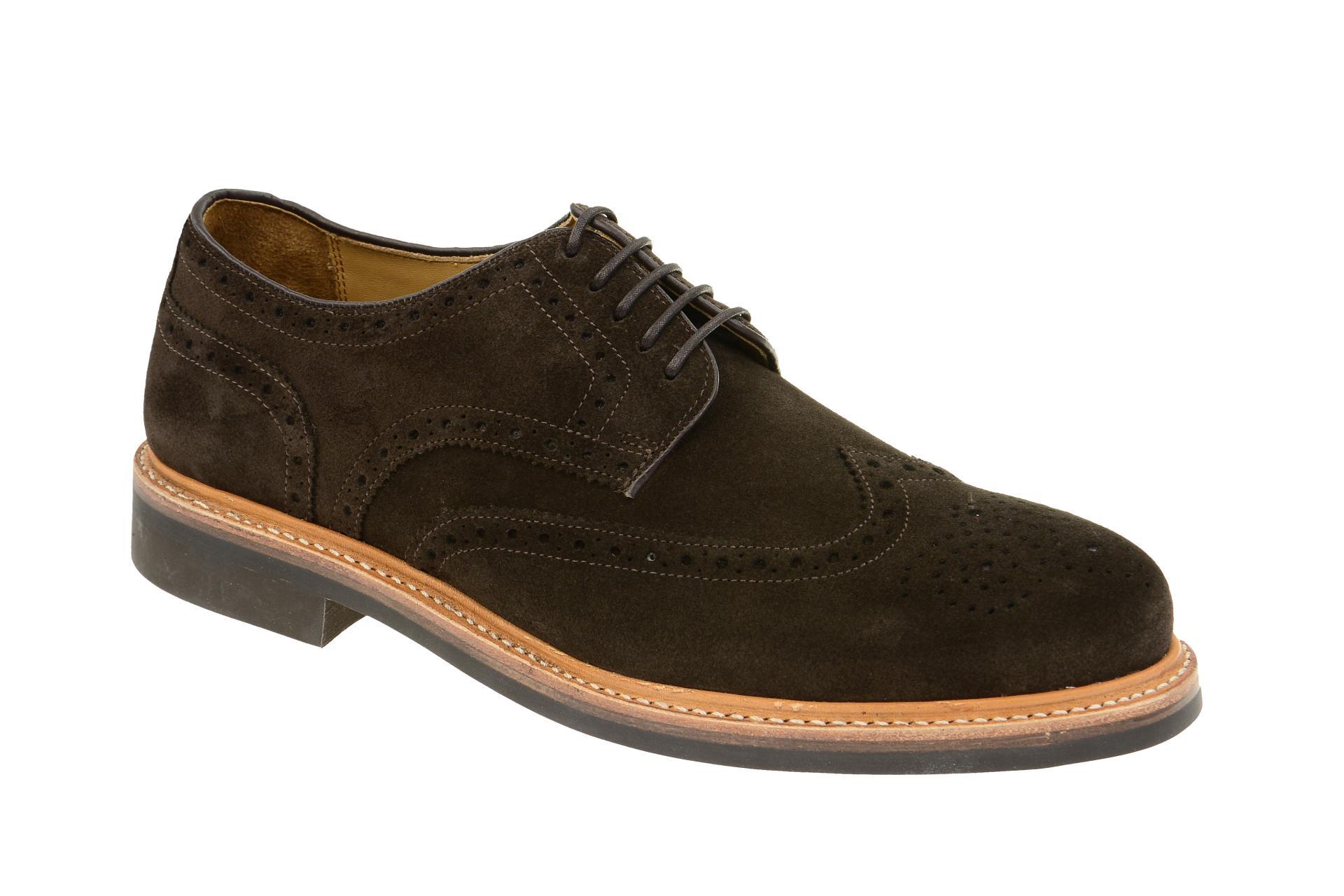 Gordon & Bros. 2318 Schuhe Levet braun Velour rahmengenäht :: Braun - 40 - Männlich - Erwachsene