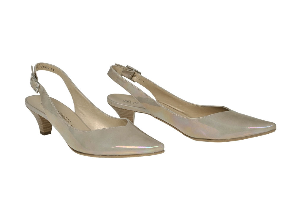 Peter Kaiser Shoes Ballet Flats Ballerina Pointed Taupe