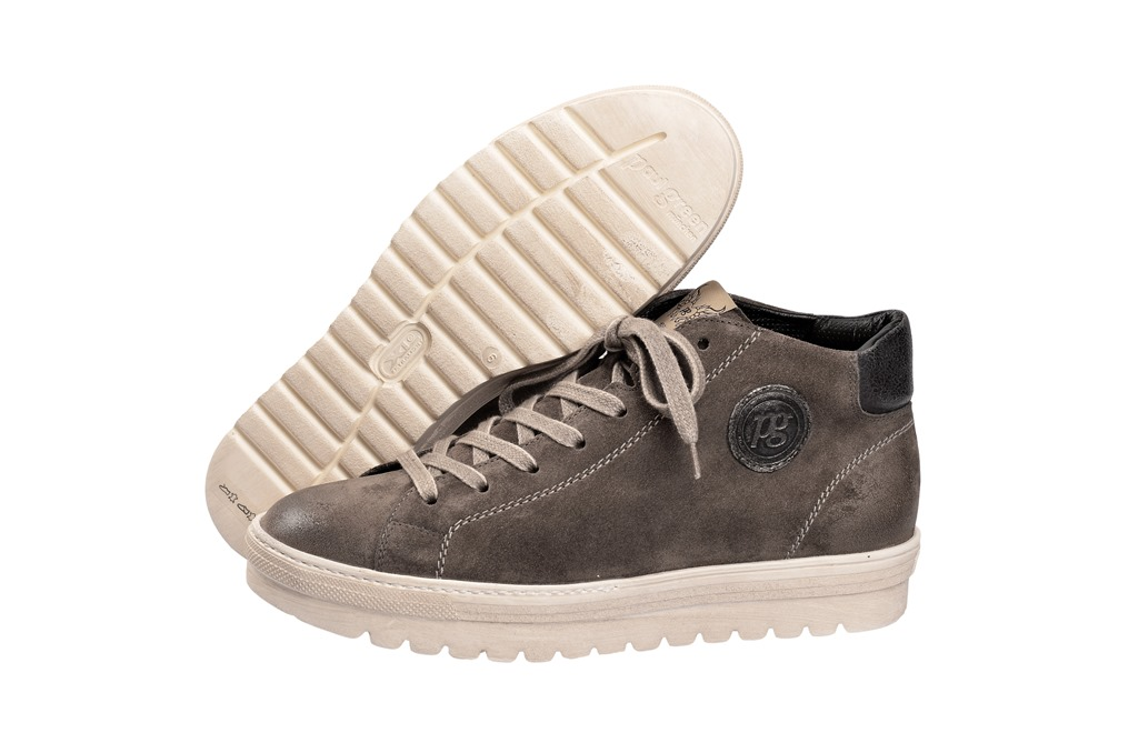 paul green schuhe boots grau titan gr 7 5 4138 022 schuhhaus strauch shop. Black Bedroom Furniture Sets. Home Design Ideas