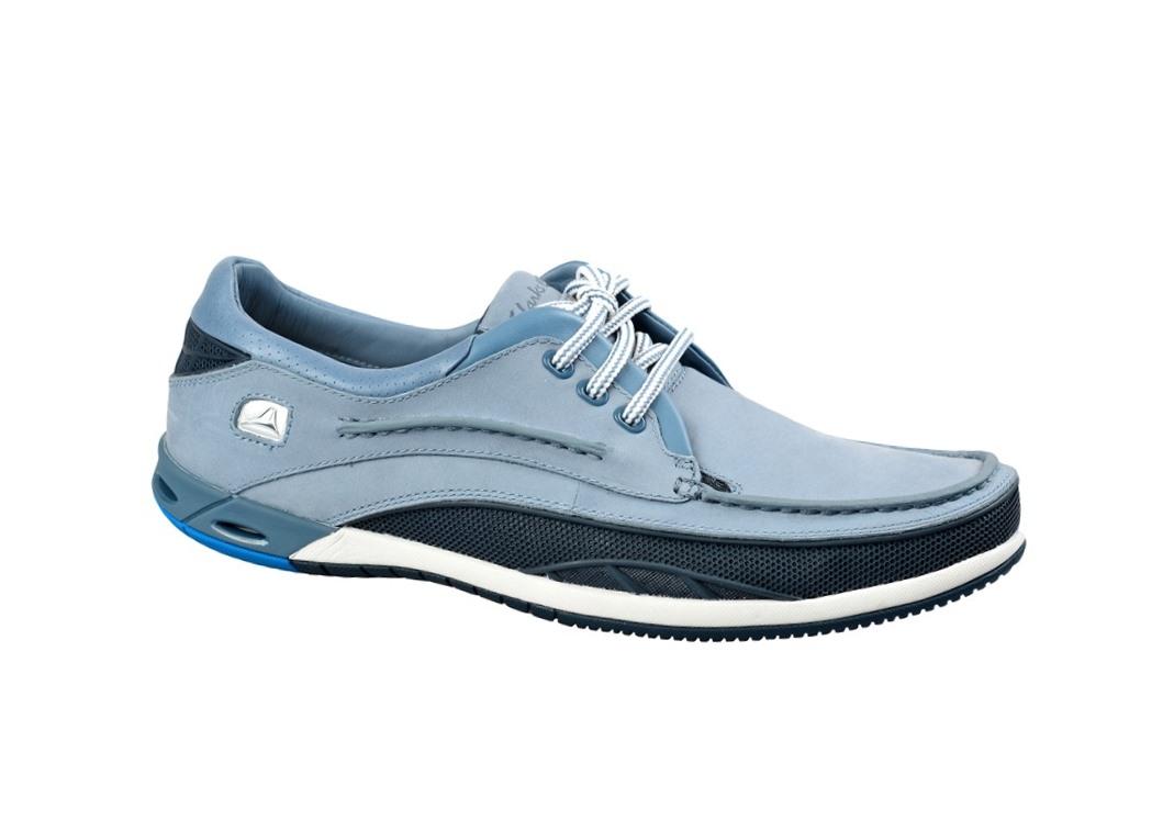 Clarks Orson Lace Schuhe in hellblau - Herren Bootsschuhe 20353240 NEU ...