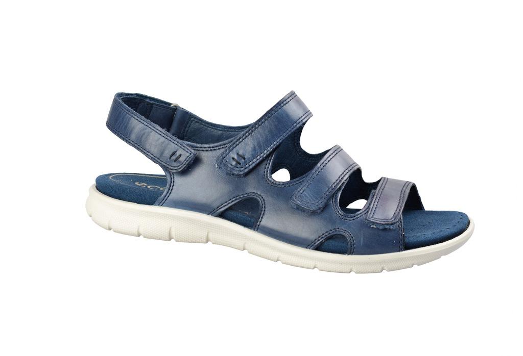 4b7ce7fd4fb409 Ecco Babett Sandale blau 21401301086 - Schuhhaus Strauch Shop