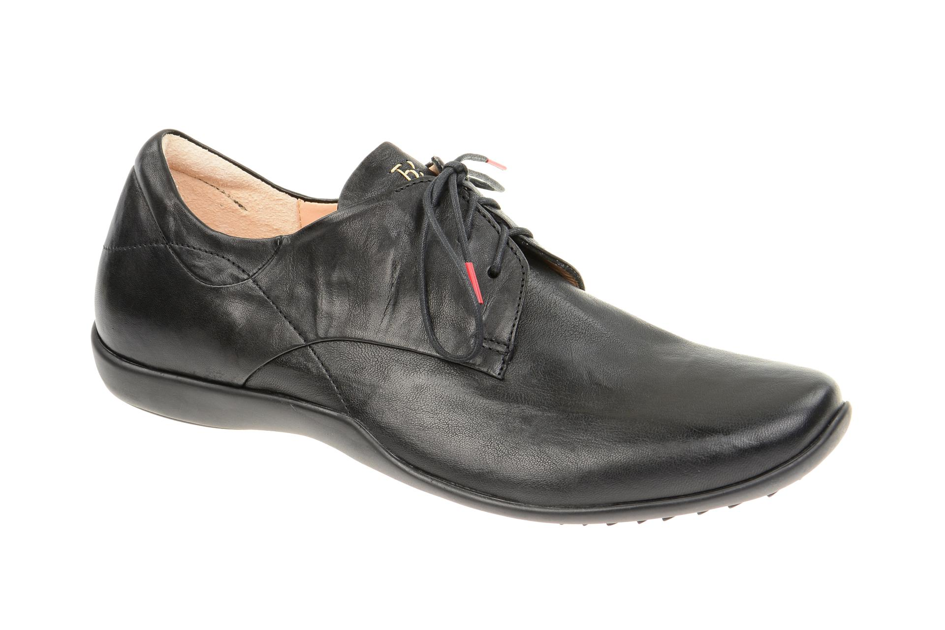 Edle schwarze Schuhe von Think!, Gr. 41