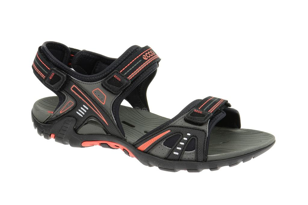 ecco hyper terrain iii sandale in schwarz herren schwimm. Black Bedroom Furniture Sets. Home Design Ideas