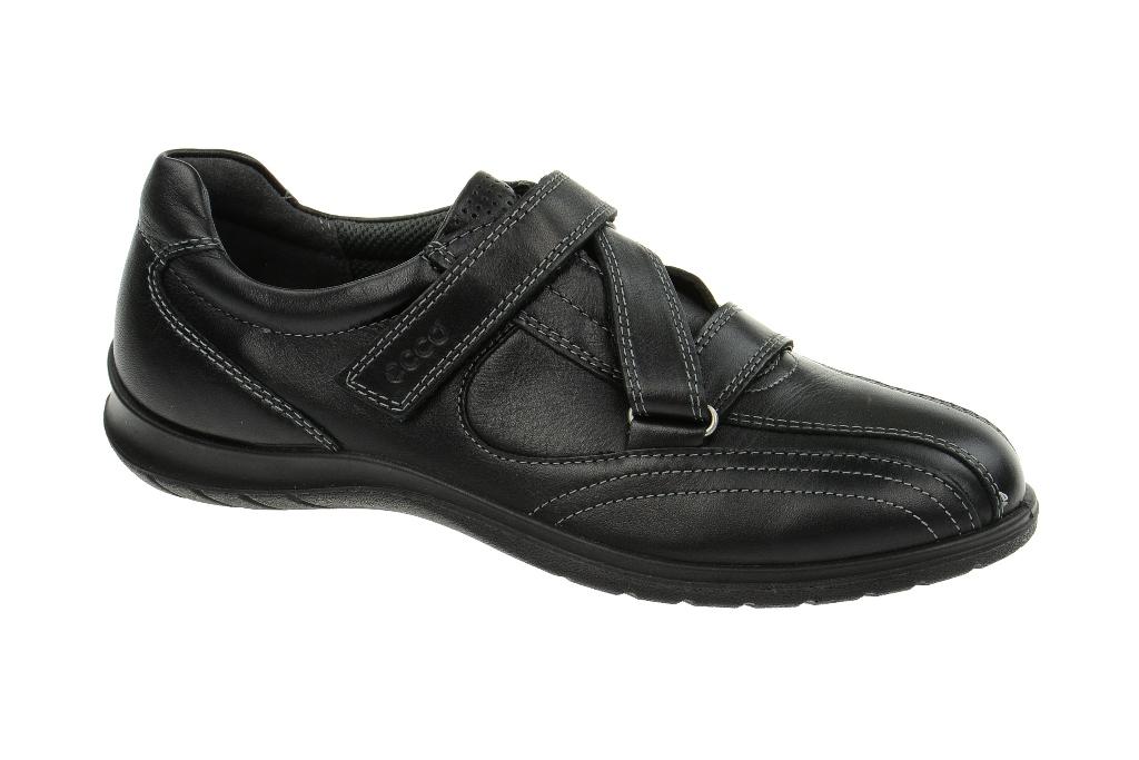 Ecco Sky Schuhe in schwarz - Damenschuhe mit Klettverschluss NEU