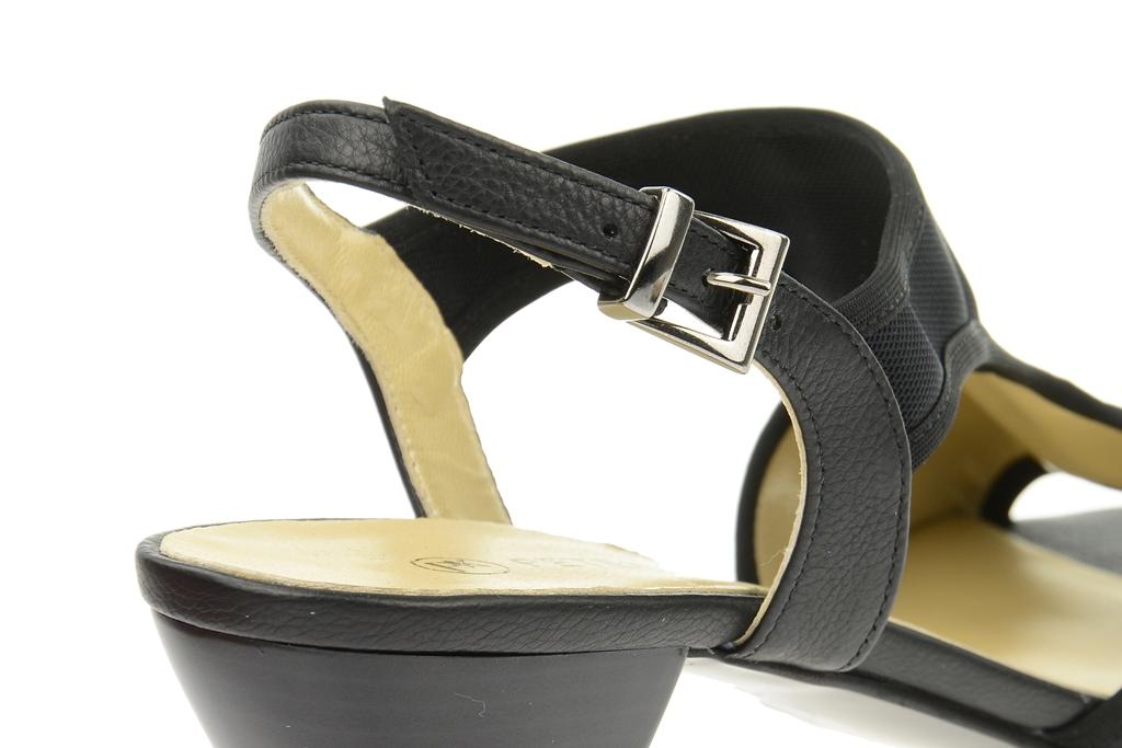 peter kaiser sandalette pantin schwarz gr 36 37. Black Bedroom Furniture Sets. Home Design Ideas
