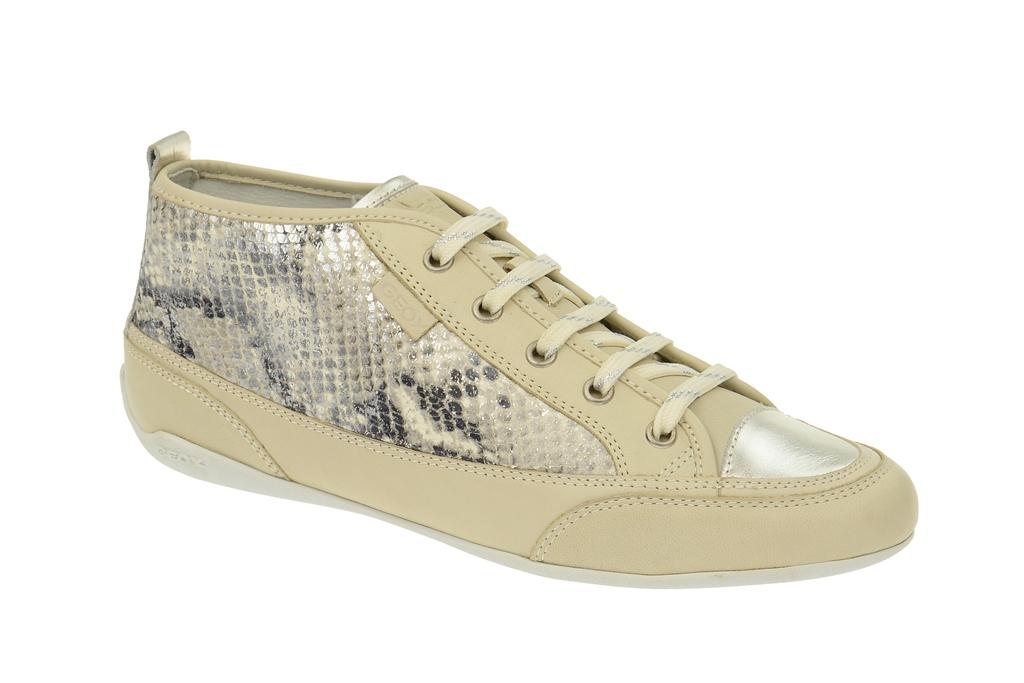 Geox New Moena Damen zapatos  - elegante Schnür-  Halb zapatos  Schnür- beige NEU cabdf2