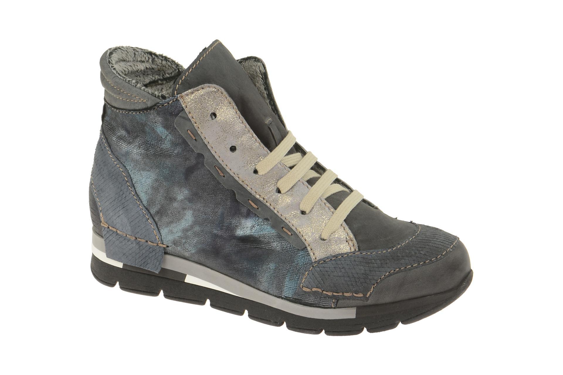 Charme Schuhe 1110L grau Stiefeletten 1110L Winterstiefelette Damen E2IHY9WD