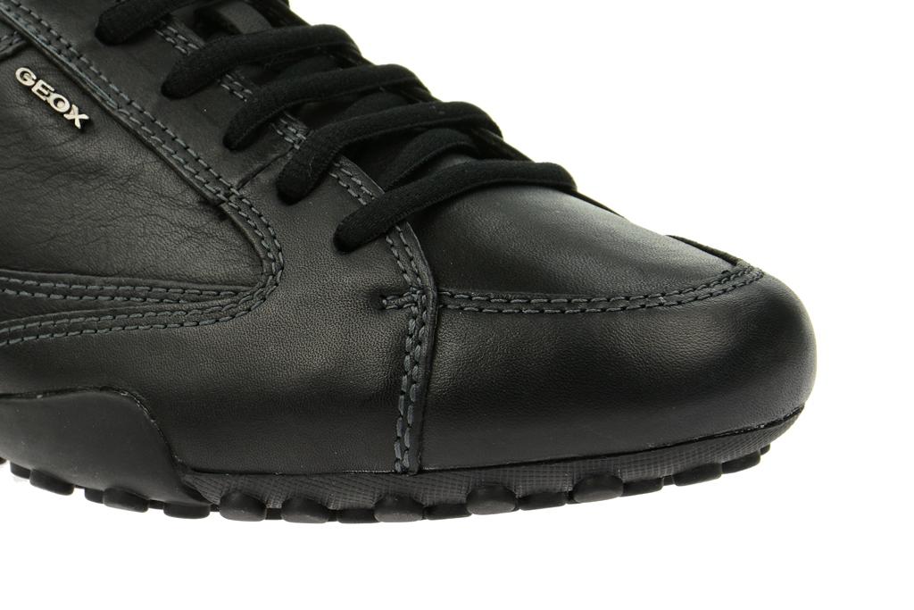 geox snake herren sneaker schwarz u4407a schuhhaus strauch shop. Black Bedroom Furniture Sets. Home Design Ideas