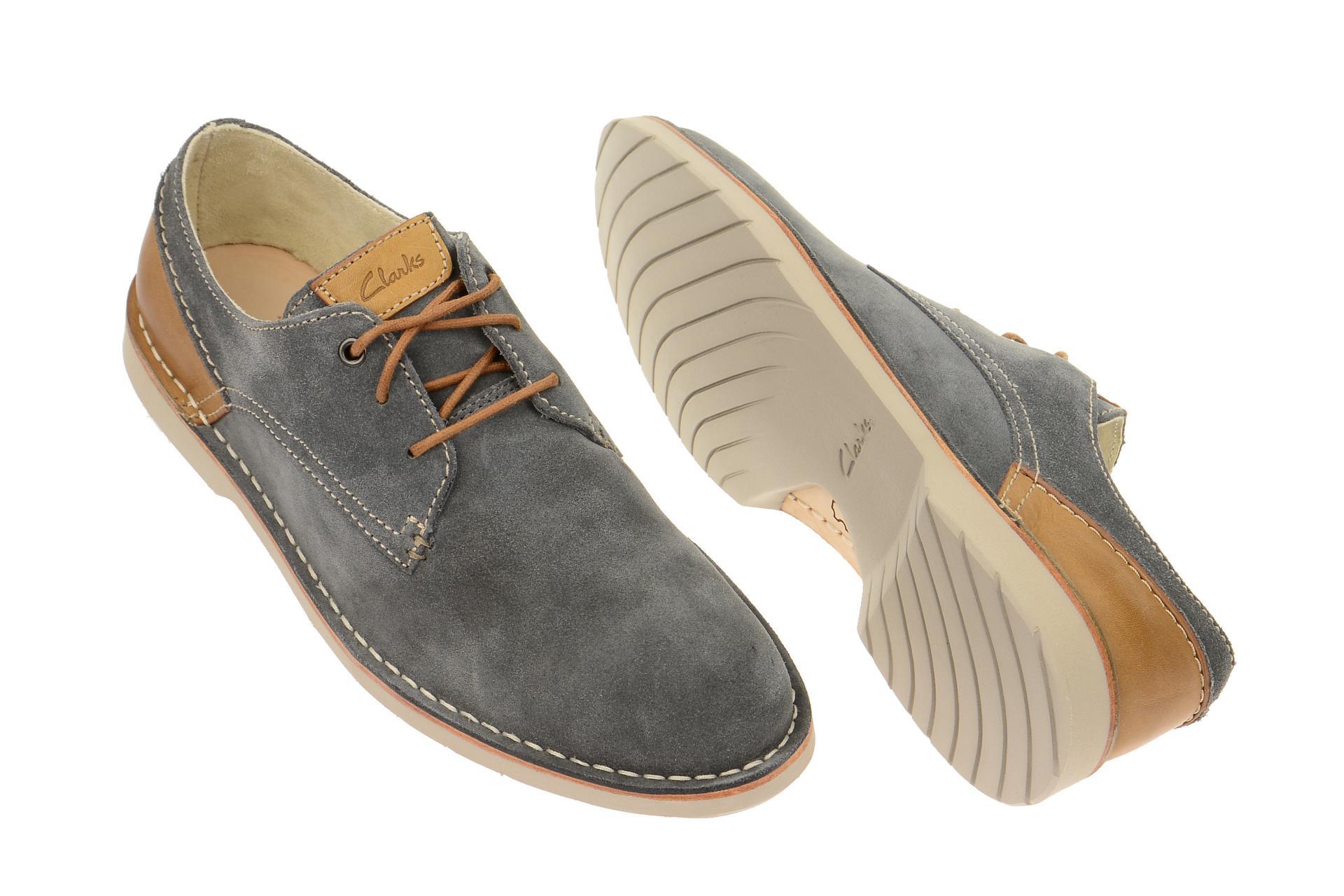 9be2d4a3c138 Details zu Clarks Schuhe Hinton Fly blau blau Herrenschuhe elegante  Halbschuhe 26107319
