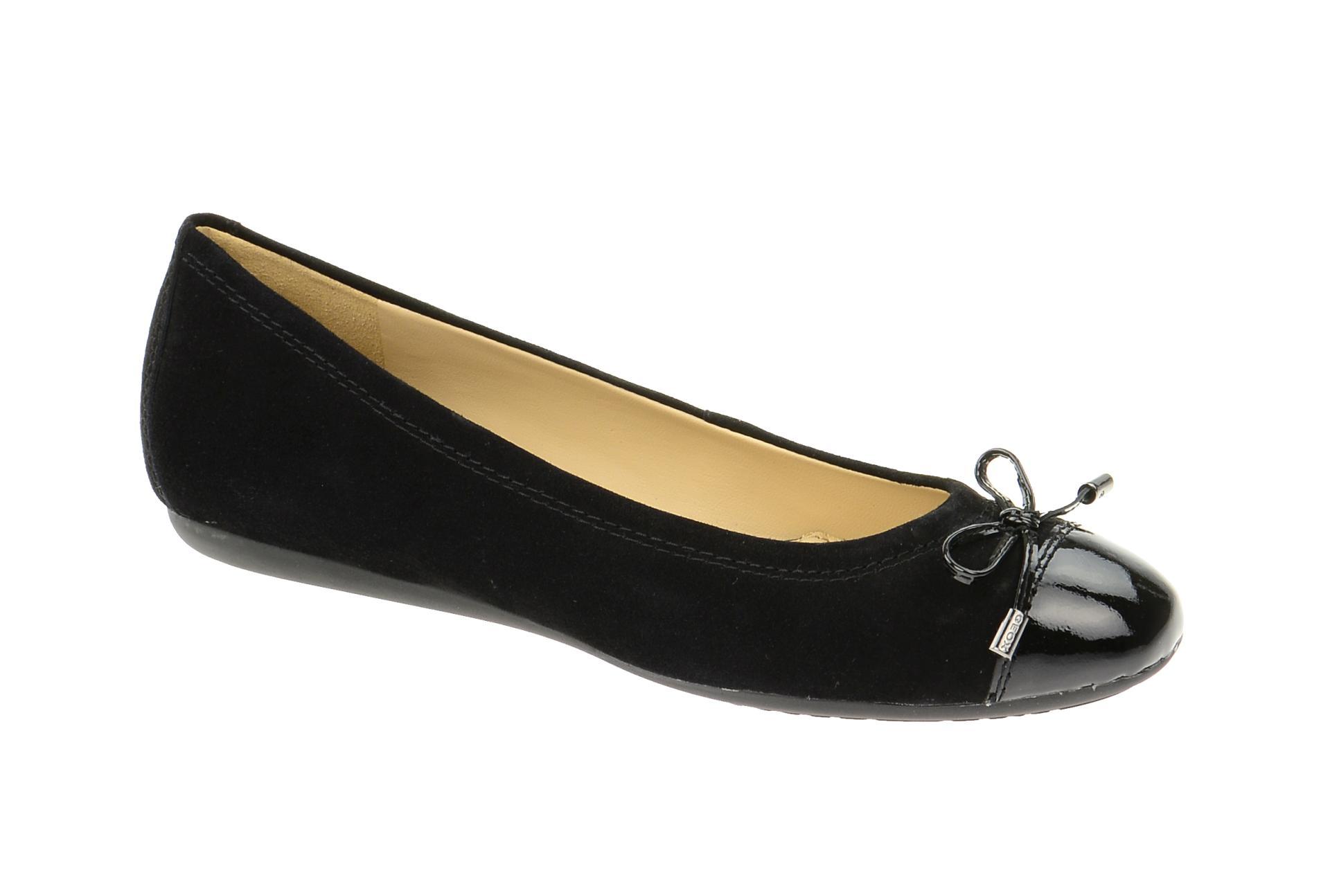 Geox Halbschuhe Schwarz 02166 Damen Ballerinas Schuhe Lola D93m4a N8n0mw