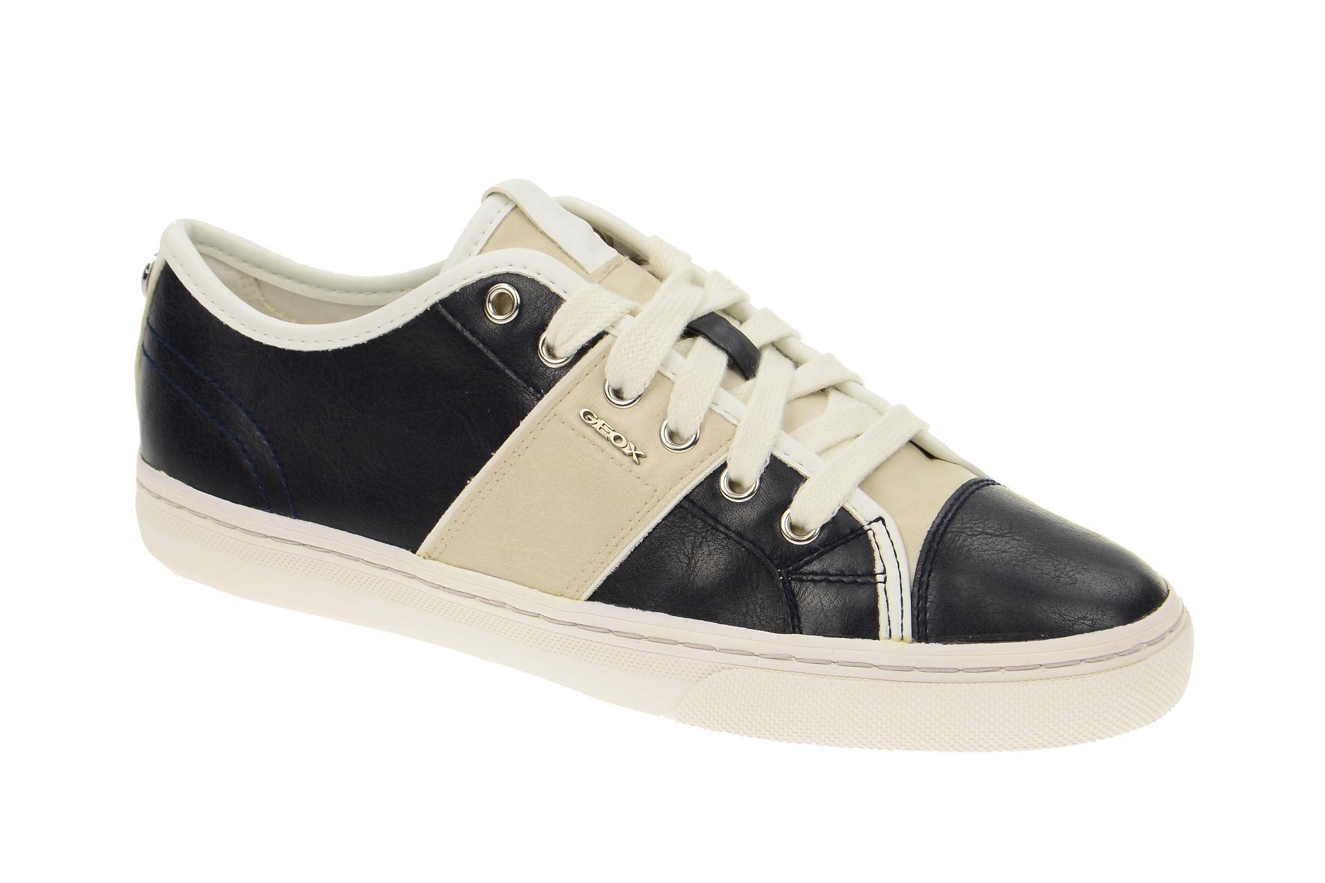 Geox MYRIA Damenschuhe Halbschuhe Sneaker blau NEU