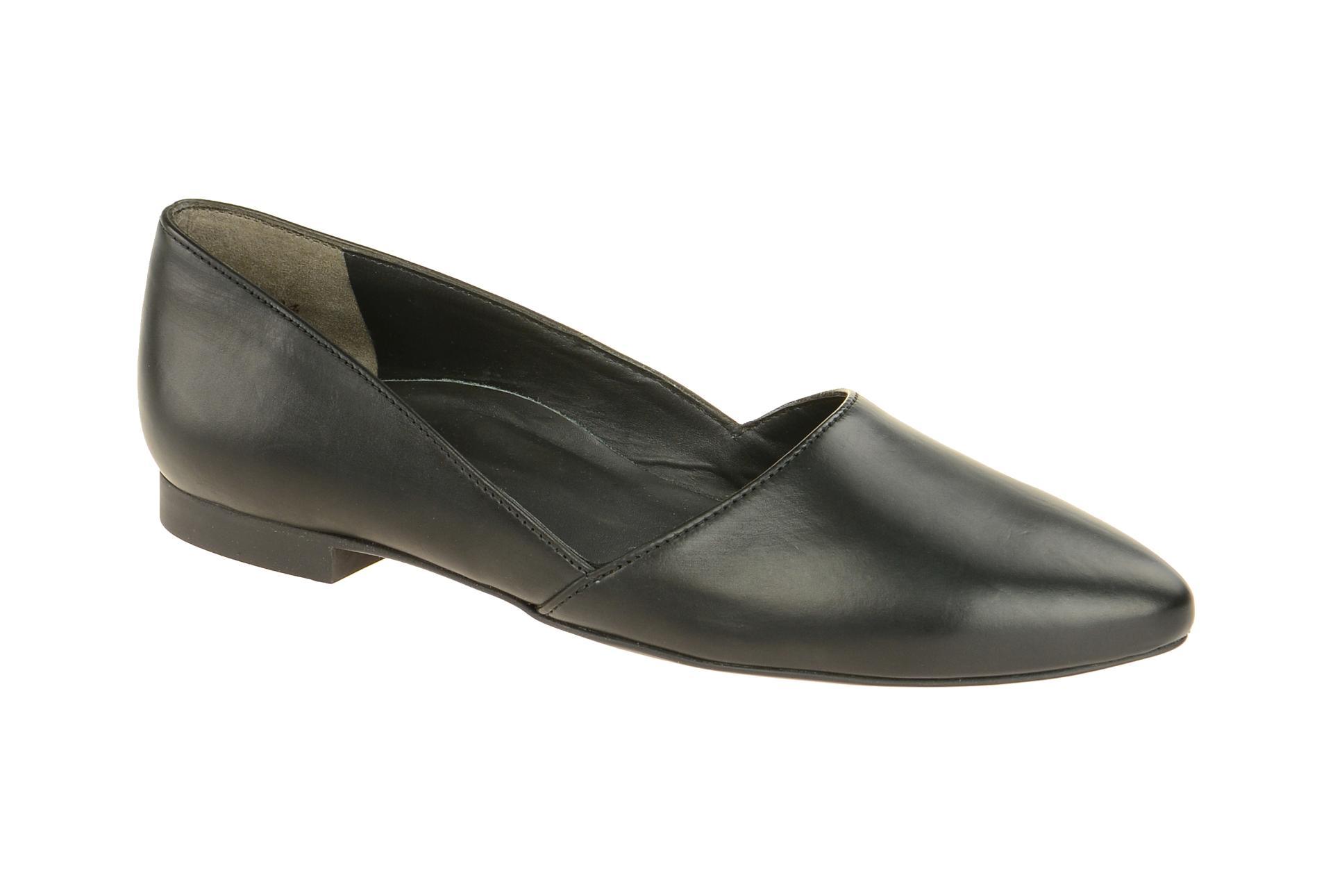 paul green schuhe slipper schwarz 2214 schuhhaus strauch. Black Bedroom Furniture Sets. Home Design Ideas