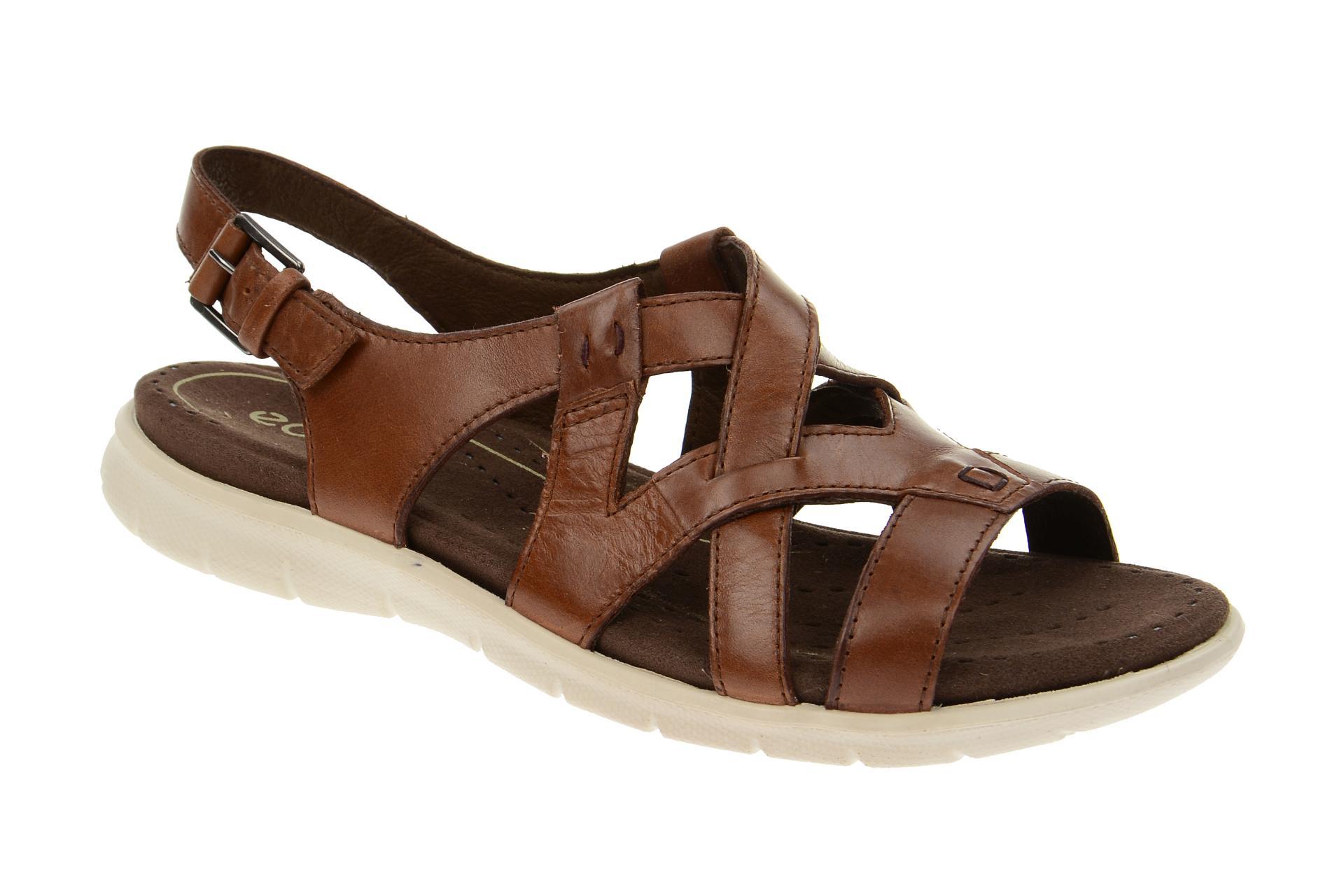 ecco damen sandalette riemchen sandalen babett sandal. Black Bedroom Furniture Sets. Home Design Ideas