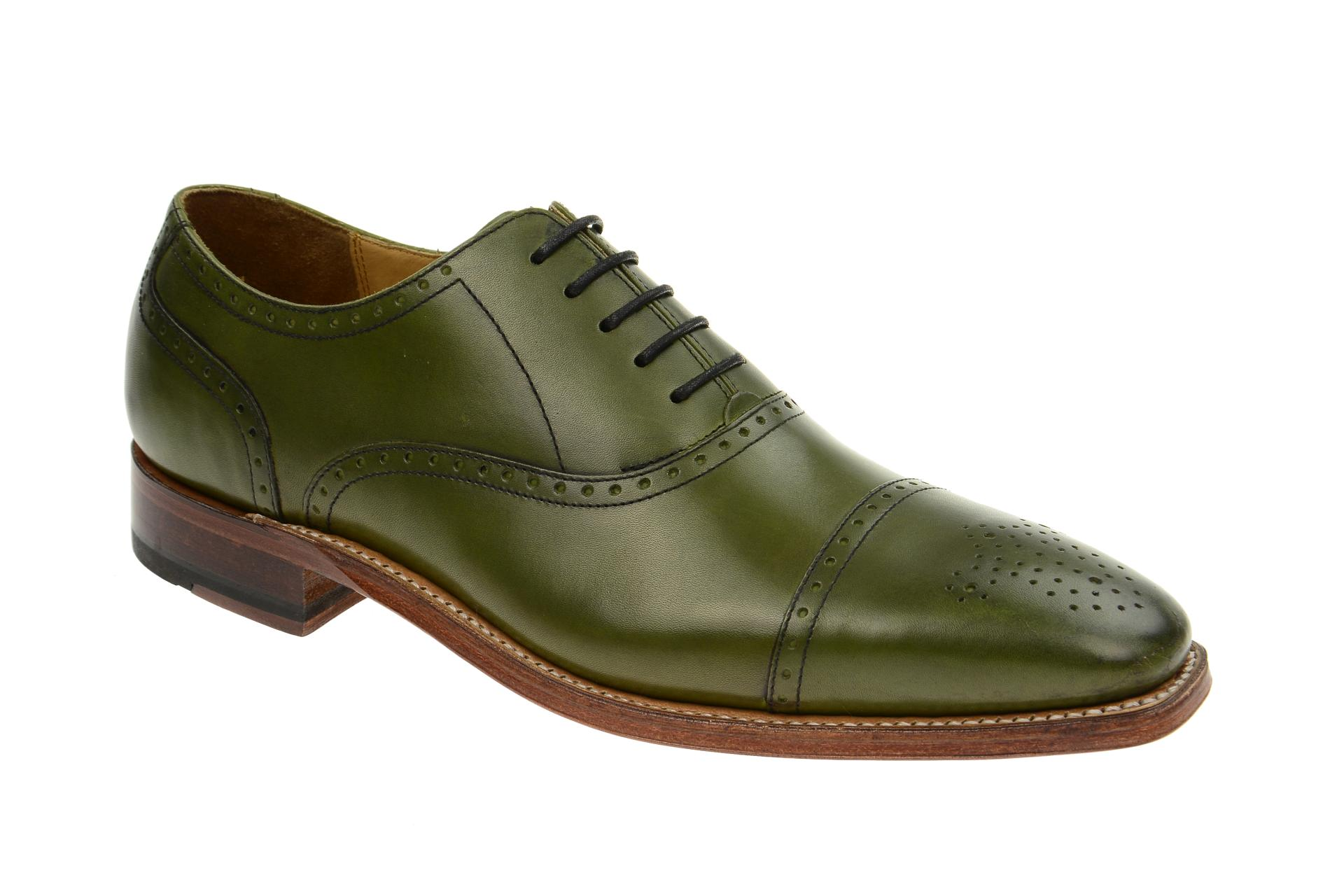 Gordon & Bros. Schuhe 2830 Lucquin grün Rahmengenäht :: Grün - 41 - Männlich - Erwachsene