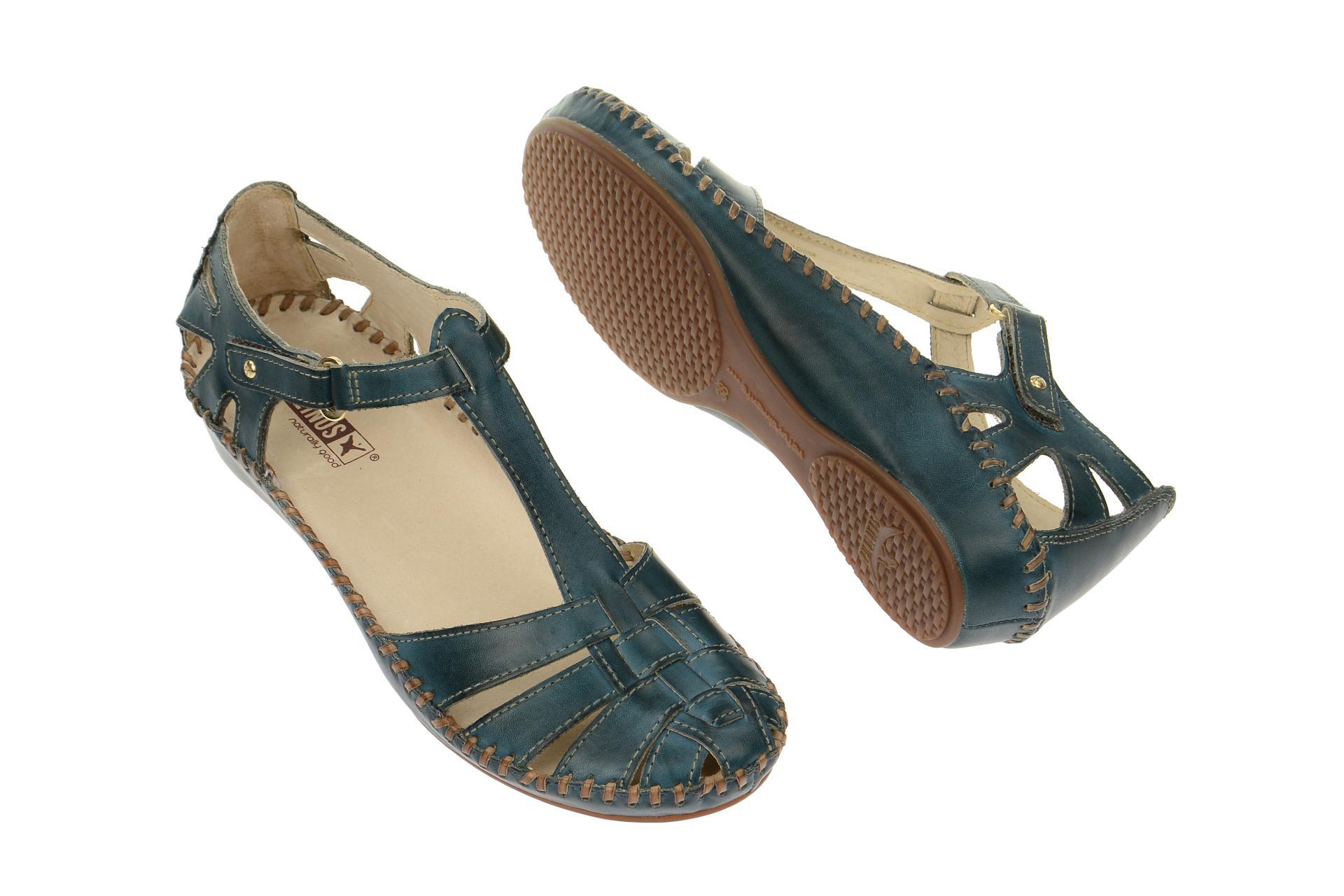 pikolinos schuhe p vallarta gr n damen sandale sandaletten 655 7434 petrol neu ebay. Black Bedroom Furniture Sets. Home Design Ideas