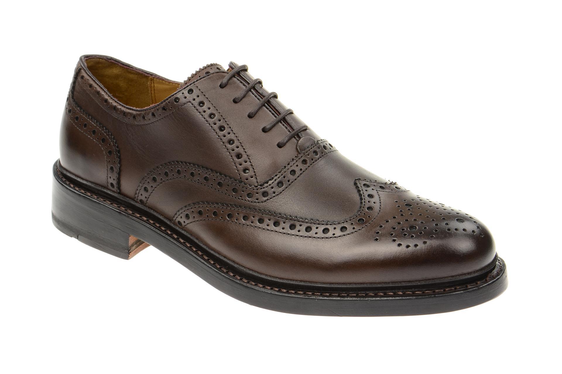 Gordon & Bros. Levet Schuhe 2506 braun rahmengenäht :: Braun - 40 - Männlich - Erwachsene