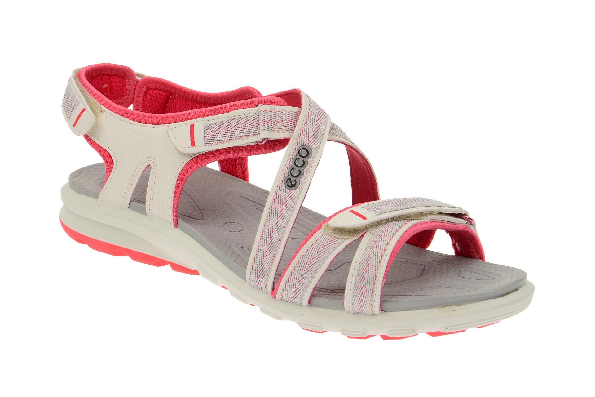 65f50bb07e65df Ecco Cruise Baja Sandale weiß pink 84155358324 - Schuhhaus Strauch Shop
