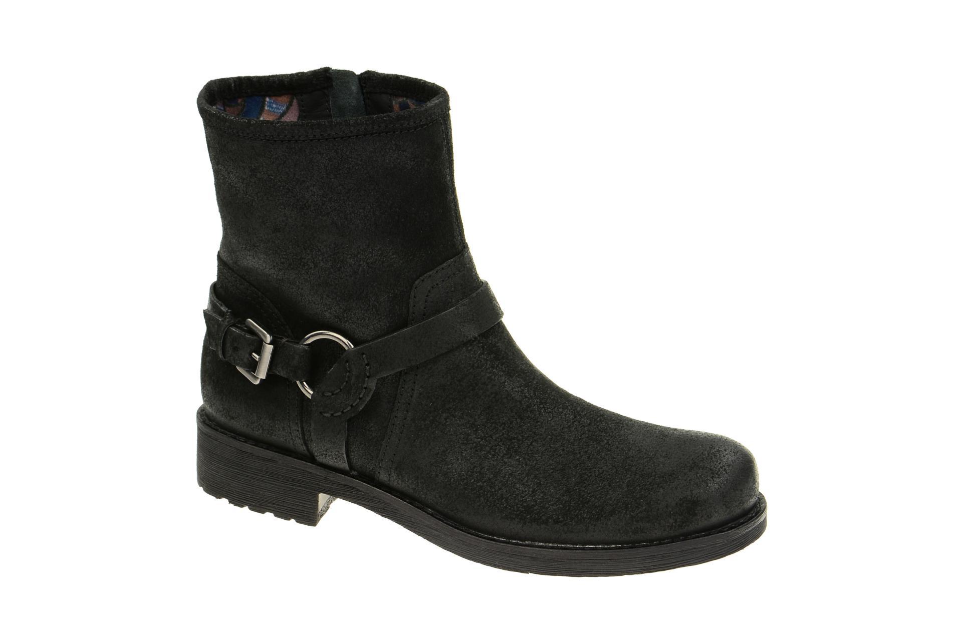 ankle boots kleiner absatz miso bucks damen stiefeletten ankle boots schnallen detail vagabond. Black Bedroom Furniture Sets. Home Design Ideas