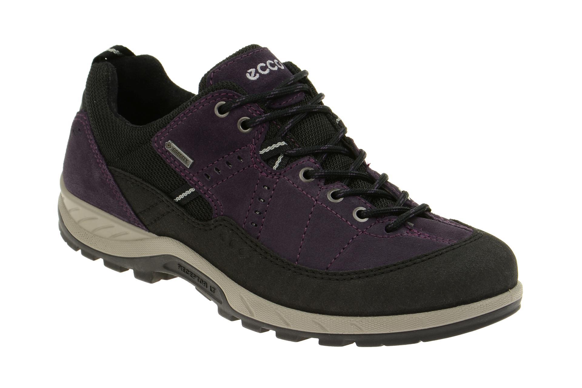 97d4e3d1af23e4 Ecco Yura Schuhe schwarz lila Gore-Tex - 84060356343 - Schuhhaus Strauch  Shop