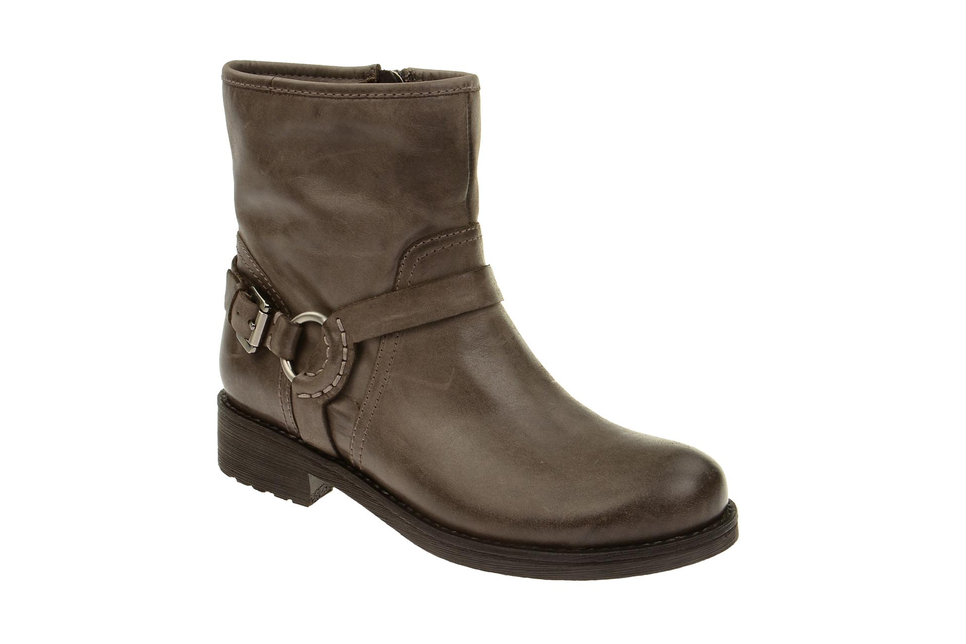 geox stiefelette new virna damen stiefel grau ankle boots. Black Bedroom Furniture Sets. Home Design Ideas