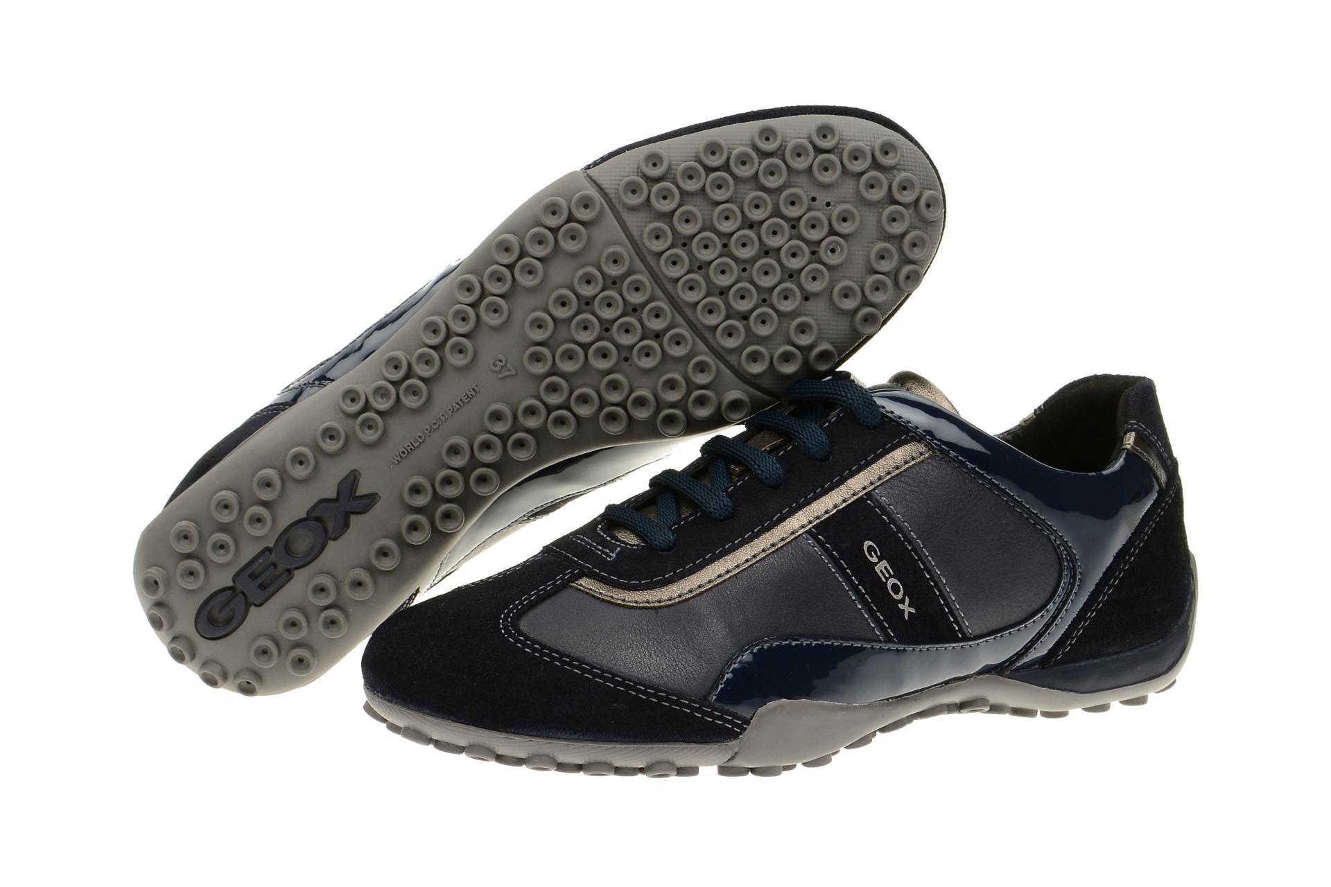 geox snake blau navy damen sneaker kaufen schuhhaus strauch. Black Bedroom Furniture Sets. Home Design Ideas