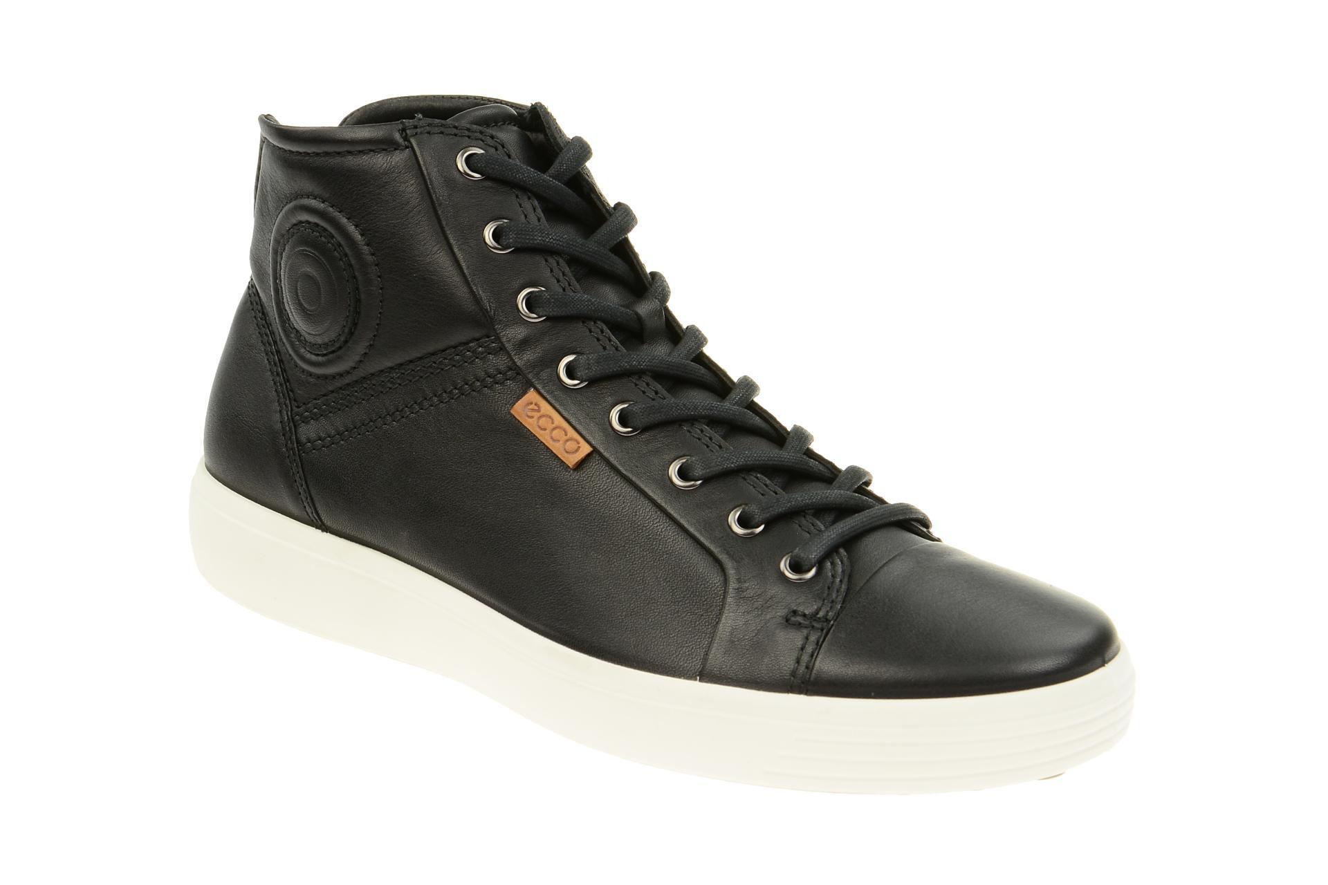 6ca23d3d77dbf6 Ecco Soft 7 Stiefel schwarz Herren Sneaker - Schuhhaus Strauch Shop