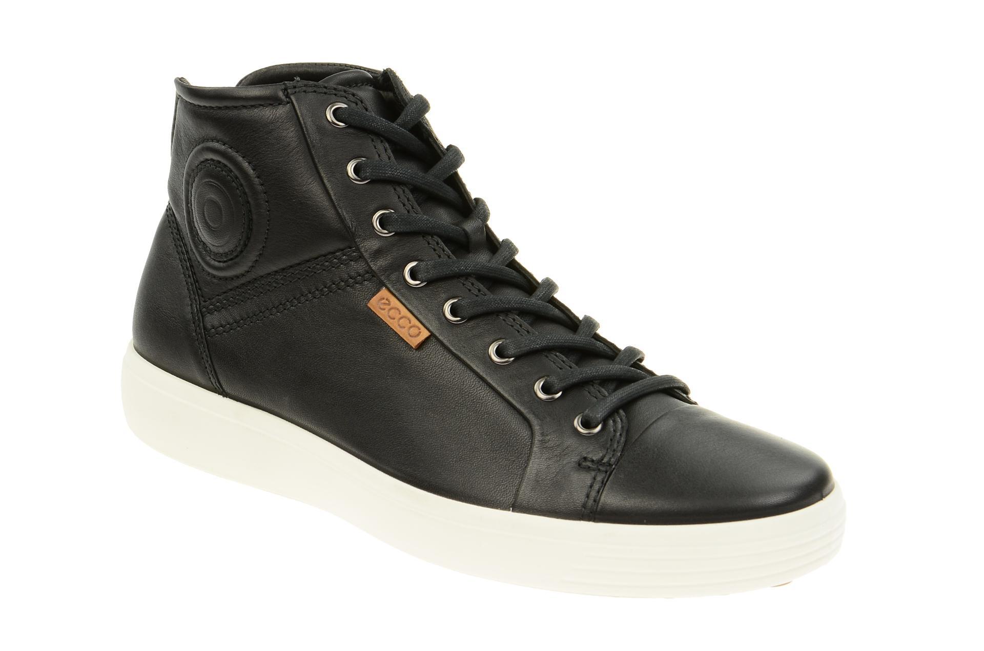Ecco Schuhe SOFT 7 LADIES schwarz Damen Stiefeletten